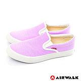 AIRWALK(女) - 滿點活力 馬卡龍調和色系 帆布鞋 - 馬卡紫