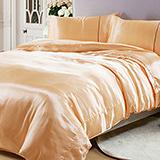 (任選)RODERLY 柔嫩膚 絲緞 雙人四件式被套床包組