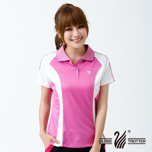 【遊遍天下】女款運動休閒吸濕排汗機能POLO衫MS012紅