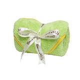 Bonne Nuit Baby 雪柔綿包巾(0/3yrs) 75×75cm 綠/黃色