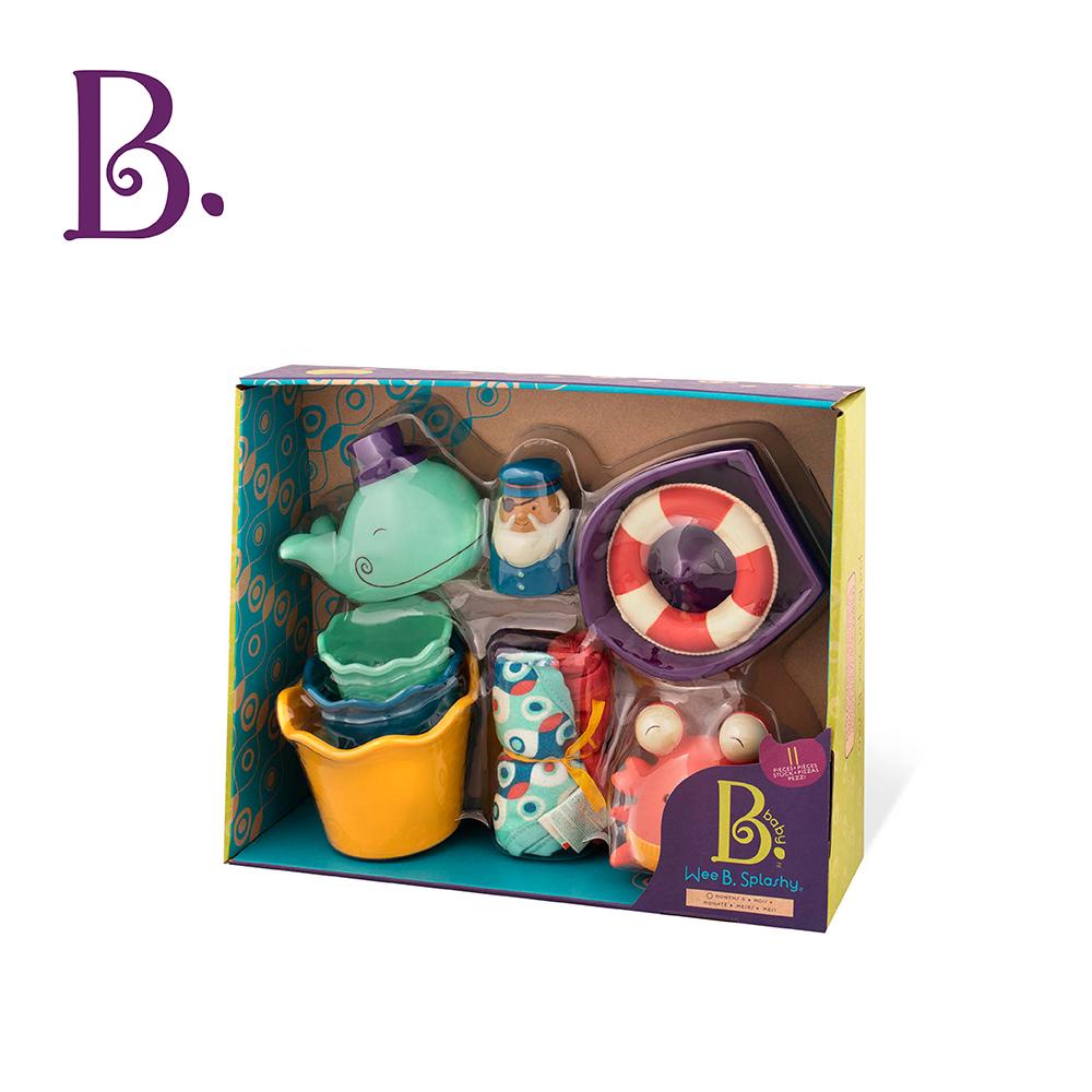 美國B.Toys感統玩具 嘩!水花轟炸趴