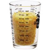 《KitchenCraft》四刻度玻璃量杯(120ml)