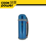 鍋寶超真空保溫瓶1000CC(珍珠藍)VB-1020B