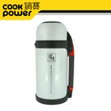 鍋寶超真空保溫瓶800CC(珍珠白)VB-800W