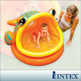 【INTEX】BABY金魚游泳池/遮陽嬰兒水池 (53L) (57109)