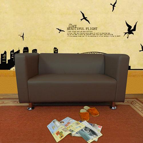 HAPPYHOME 小龐帝克二人座鐵腳沙發ZU5~1~2T四色