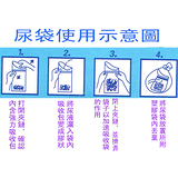 omax攜帶方便型尿袋-10入