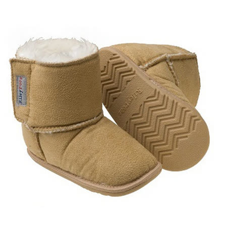 美國 Rileyroos 真皮手工鞋/學步鞋/童鞋/寶寶鞋/嬰兒鞋_卡特鞋 大地色