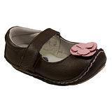 美國 Rileyroos 真皮手工鞋/學步鞋/童鞋/寶寶鞋/嬰兒鞋 費歐納 咖啡色