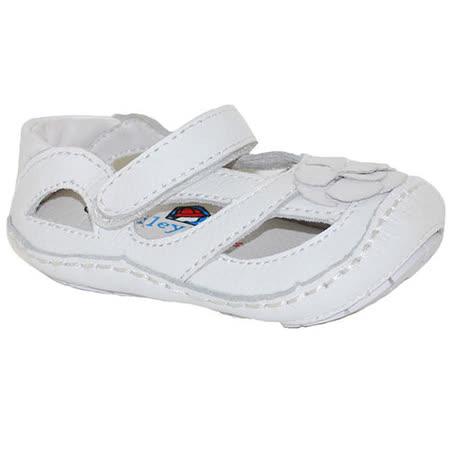 美國 Rileyroos 真皮手工鞋/學步鞋/童鞋/寶寶鞋/嬰兒鞋_艾莉森 經典白