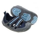 美國 Rileyroos 真皮手工鞋/學步鞋/童鞋/寶寶鞋/嬰兒鞋 達克它鞋海洋藍黑