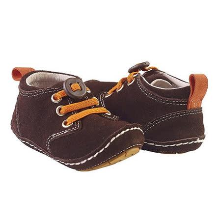 美國 Rileyroos 真皮手工鞋/學步鞋/童鞋/寶寶鞋/嬰兒鞋_奇卡 巧克力