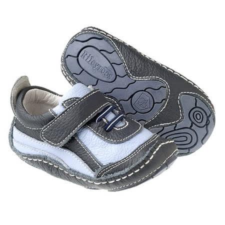 美國 Rileyroos 真皮手工鞋/學步鞋/童鞋/寶寶鞋/嬰兒鞋_布魯庫斯天空藍