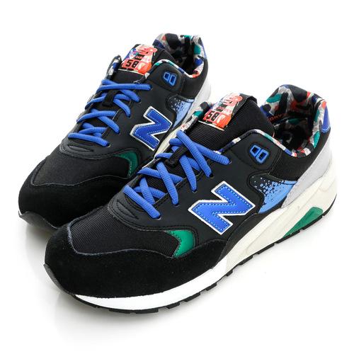 New Balance 男鞋 復古慢跑鞋-黑-MRT580HD