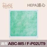 【怡悅HEPA濾心】適用三洋ABC-M5 CAFT-M5 /國際F-P02UT9 F-P02US-3入量販包
