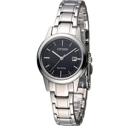星辰 CITIZEN Eco-Drive 光動能優雅時尚腕錶 FE1081-59E