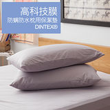 LAMINA 高科技膜防蹣防枕用保潔墊-2入(灰)