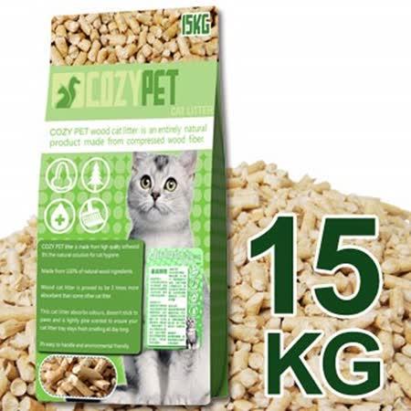 COZY PET 100% 天然松木木屑砂 15KG