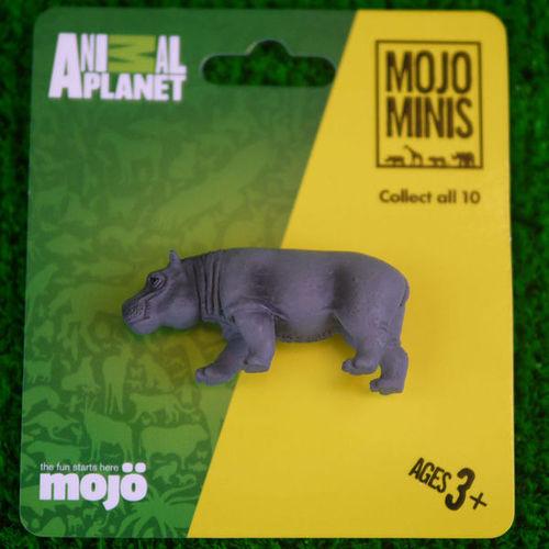 【MOJO FUN 動物模型】動物星球頻道獨家授權 - 迷你河馬