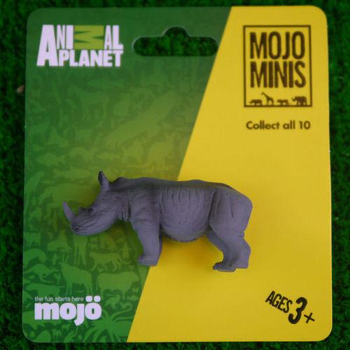 【MOJO FUN 動物模型】動物星球頻道獨家授權 - 迷你犀牛