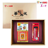 【華陀扶元堂】天官 高麗蔘茶禮盒(高麗蔘茶包35入+鍋寶保溫杯)x1