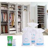 【速潔家】櫥櫃專用水玻璃環保再生除溼包除溼袋三入組(250g)