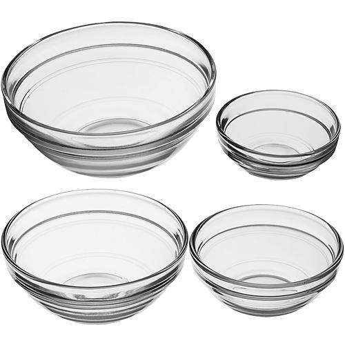 《KitchenCraft》玻璃調味碗4件