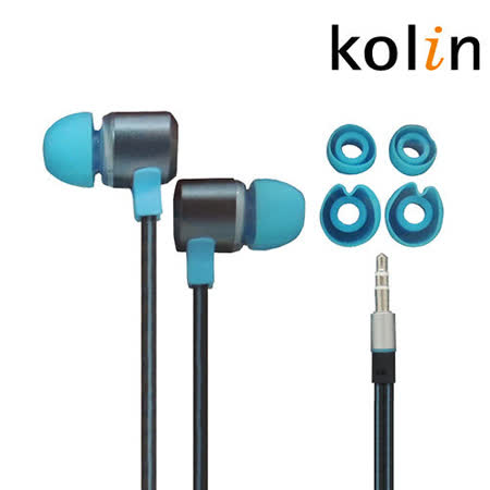 Kolin歌林 氣密式扁線耳機KER-SH12