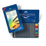 【輝柏 Faber-Castell】FABER 114312創意工坊 油性色鉛筆 (12色)