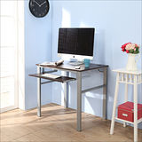 《BuyJM》低甲醛防潑水80公分單鍵盤穩重型電腦桌