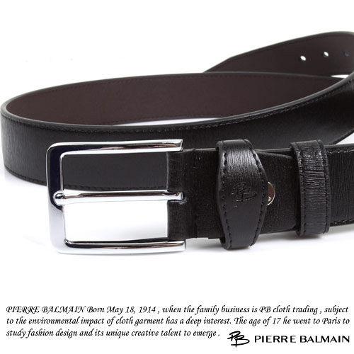 PB-皮爾帕門-質感二層牛皮休閒皮帶P865016