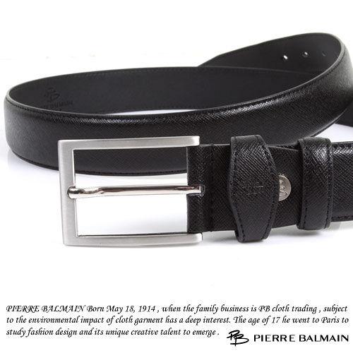 PB-皮爾帕門-質感二層牛皮休閒皮帶P865017