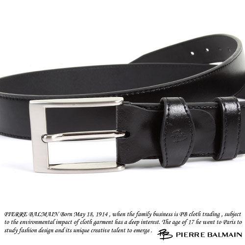 PB-皮爾帕門-質感二層牛皮休閒皮帶P865018