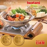 【日本Iwatani】岩谷達人slim磁式超薄型高效能瓦斯爐-日本製造-香檳金(CB-AS-1)