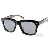 Go-Getter太陽眼鏡 人氣經典方框款 (黑-琥珀) #GS1001 BKDE