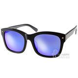 Go-Getter太陽眼鏡 韓版人氣水銀鏡面款 (黑) #GS1004 BKBM