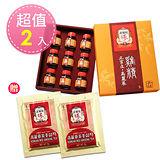 正官庄 高麗蔘雞精禮盒(9入/盒 共2盒 )贈人蔘茶包x2包