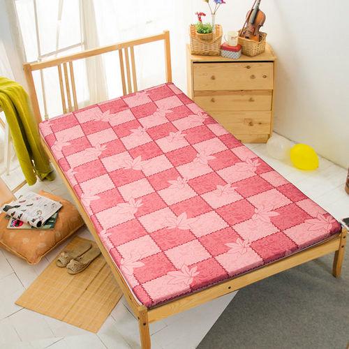 小資/外宿首選 高彈透氣纖維棉摺疊床墊