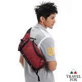 【Travel Fox】旅狐經典隨身臀/腰/斜背包(紅)TB236-04