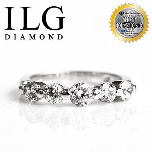 【ILG鑽】頂級八心八箭擬真鑽石戒指-RI048-歐式線戒款 貴婦名媛獨家示範 OL最愛款