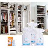 【速潔家】櫥櫃專用水玻璃環保再生除溼包除溼袋三入組(150g)