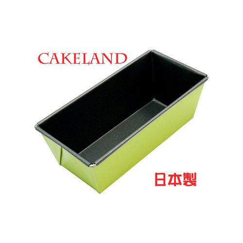 日本CAKELNAD GREEN長方形不沾吐司蛋糕模25CM