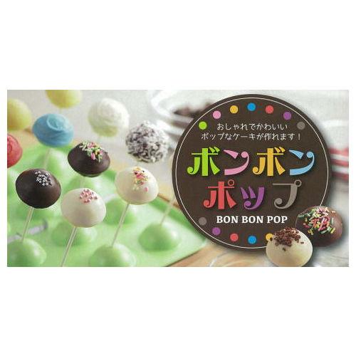 日本CAKELAND GREEN不沾棒棒糖蛋糕模盤(12入)