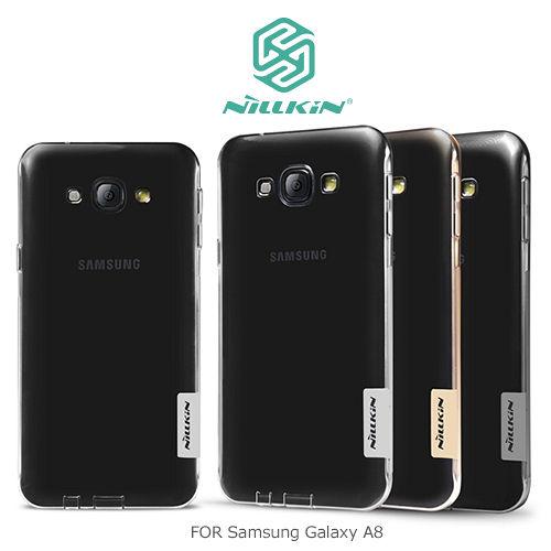 NILLKIN Samsung Galaxy A8 本色系列TPU軟套
