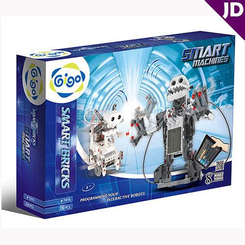 【智高 GIGO】科技積木系列 智能互動機器人 #7416-CN