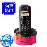 《Panasonic》 DECT數位式無線電話 KX-TG1311 (熱戀桃)