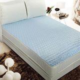 HomeBeauty 3M防潑水單人保潔墊 -天空藍