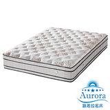 【歐若拉名床】四線立體車花天絲棉布獨立筒床墊-單人加大3.5尺