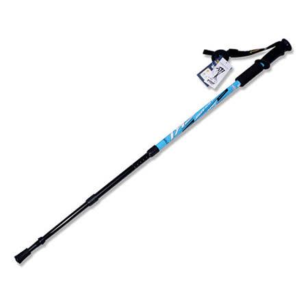 PUSH! 航空鋁合金鎢鋼杖 尖三節調整式登山杖