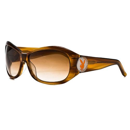 PLAYBOY-時尚太陽眼鏡(焦糖色)PB83041-O32